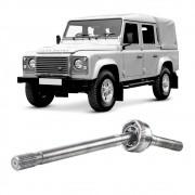 Semi Eixo Land Rover Defender 110 2.4 4X4 Manual com ABS 2007 2008 2009 2010 2011 - Dianteiro Lado Esquerdo