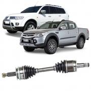 Semi Eixo Mitsubishi L200 Triton 2008 em Diante Pajero Dakar 2009 a 2013 4X4 com ABS - Lado Esquerdo