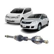 Semi Eixo Nissan Livina Tiida 2010 2011 2012 2013 2014 2015 2016 2017 2018 2019 2020 1.8 Automático  Lado Direito