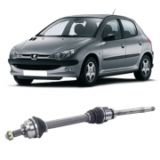 Semi Eixo Peugeot 206 1.6 16V 2001 a 2020 Câmbio Manual sem ABS - Lado Direito