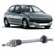 Semi Eixo Peugeot 206 1.6 16V sem ABS 2000 2001 2002 2003 2004 2005 2006 2007 2008 - Lado Esquerdo