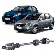 Semi Eixo Renault Sandero 1.0 16V 2007 a 2012 Logan 1.6 8V 2004 a 2009 Logan 1.0 16V 2007 a 2012 - Lado Direito