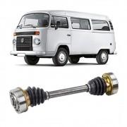 Semi Eixo VW Kombi 1.6 à ar Gasolina 1978 a 2005 Kombi 1.6 Diesel à Água 2006 em Diante