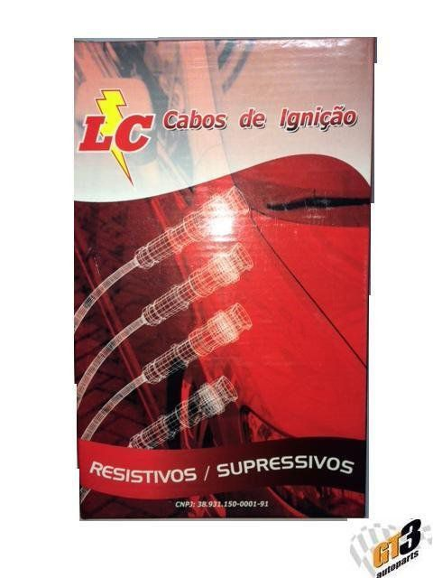 Cabo de Ignição Fiat Uno 1.6 8V 1995, Elba 1.5 8V 92/96, Fiorino 1.0/ 1.5/ 1.6 93/96, Palio 1.5 92/..., Uno 1.0
