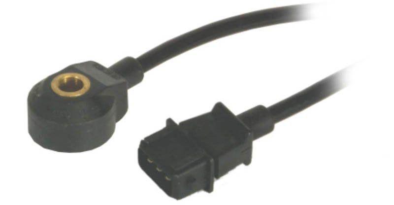 Sensor de Detonação VW Bora 00 a 02, Gol (1.0 8V), Parati (1.0 16V Turbo) a partir de 2002, Gol, Parati (2.0 16V) a partir de 1995, Golf 99 a 00, New Beetle a partir de 1999.
