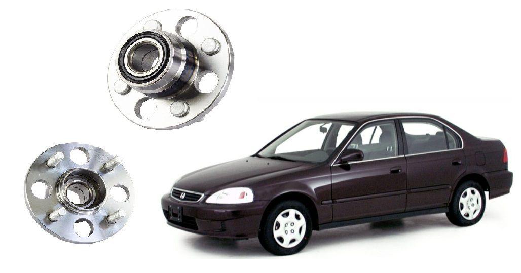 Cubo de Roda Traseira Honda Civic 96 a 00 s/ABS