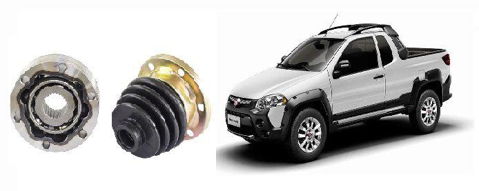 Junta Deslizante Strada Locker, Palio Avednture/ Weekend Locker, Doblò, Idea 1.6/1.8 a partir de 2011 (Motor E-Tork) (Lado Esquerdo/Direito).