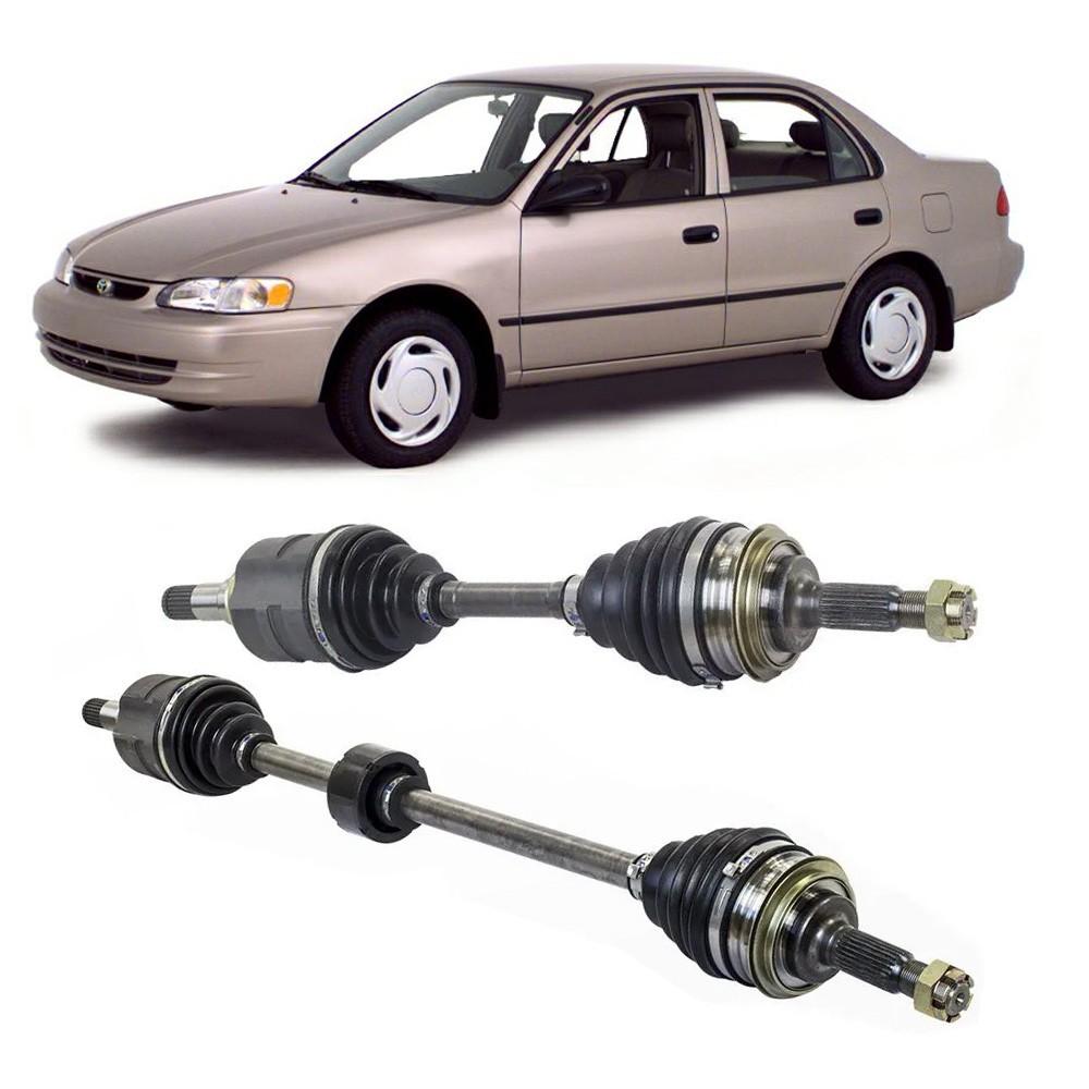 Par de Semi Eixo Corolla 1.8 Manual sem ABS 1998 1999 2000 2001 - 26x23