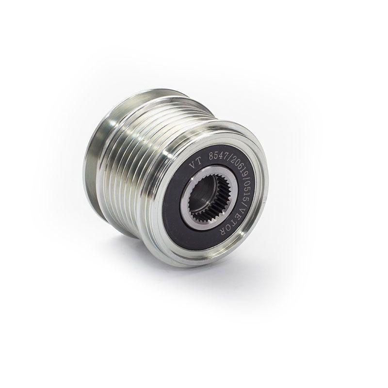 Polia Roda livre Mercedes Benz C160/C180 Kompressor, E200, C200 Kompressor, C230 Kompressor