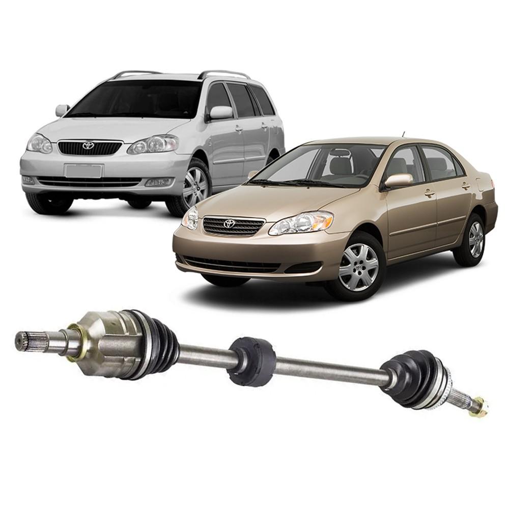 Semi Eixo Corolla Fielder 1.8 Automático com ABS 2003 2004 2005 2006 2007 2008 - Lado direito