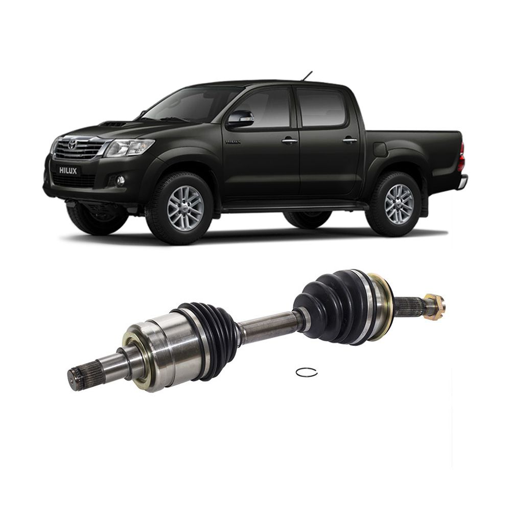 Semi Eixo Dianteiro Toyota Hilux 2.5 3.0 4X4 2005 a 2015 Hilux SRV 2006 a 2015 - Lado Direito e Esquerdo 30 x 30