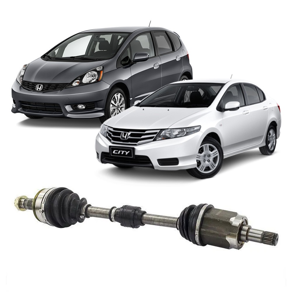 Semi Eixo Honda City 1.5 New City 1.4 1.5 Manual e Automático 2009 a 2014 - Lado Esquerdo