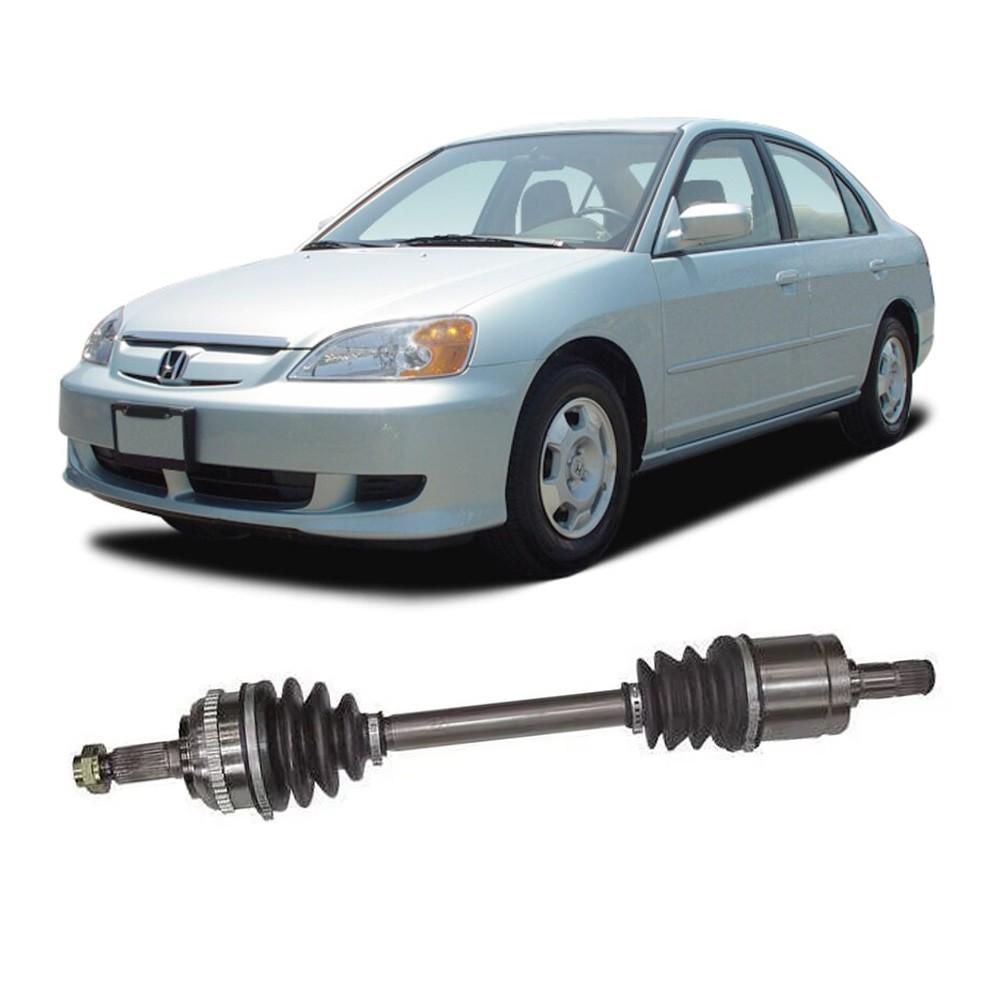 Semi Eixo Honda Civic 1.7 Automático com ABS 2001 2002 2003 2004 2005 2006 - Lado Direito