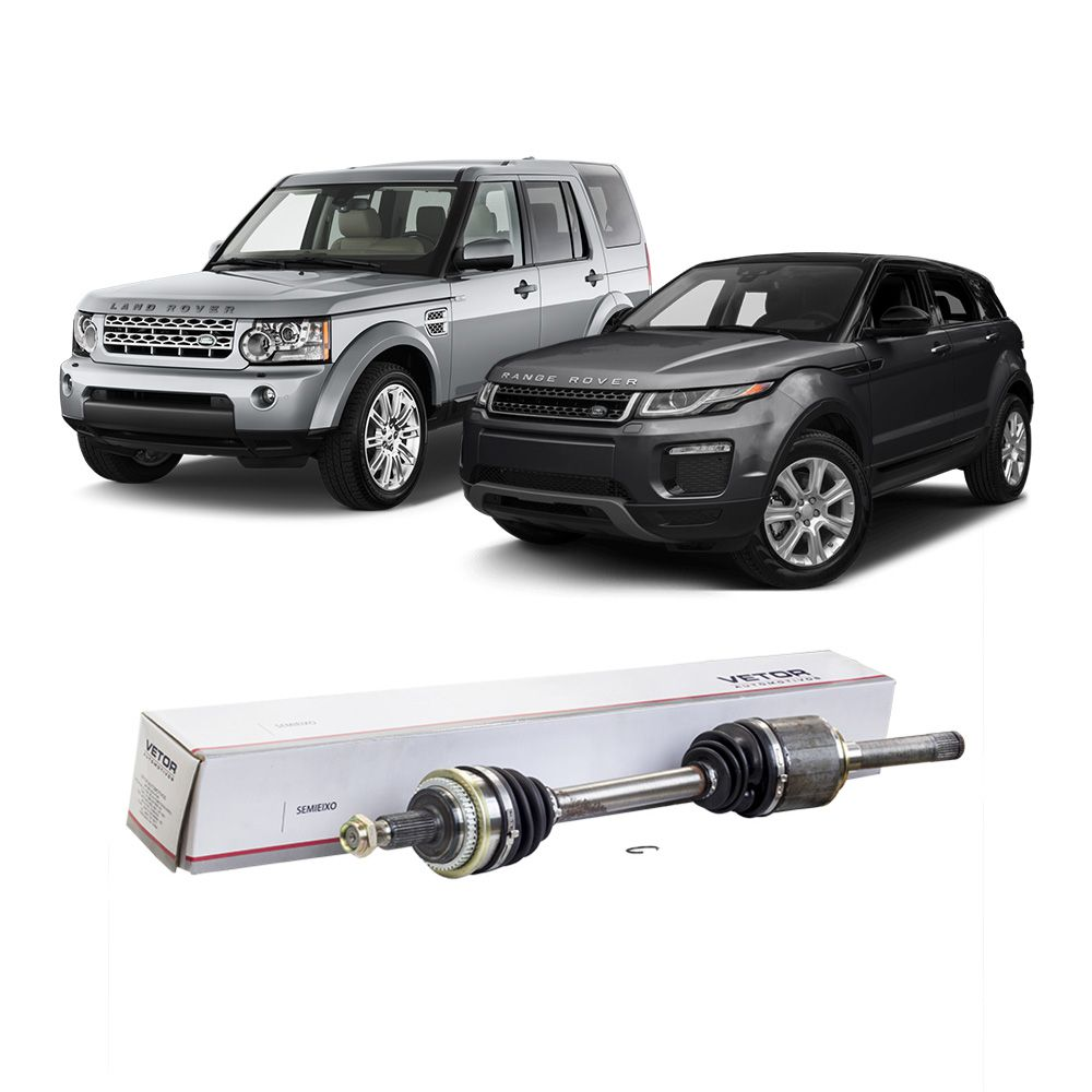 Semi Eixo Land Rover Discovery 3 Range Rover com ABS a Partir de 2008 -  Traseiro Lado Direito e Esquerdo Automático