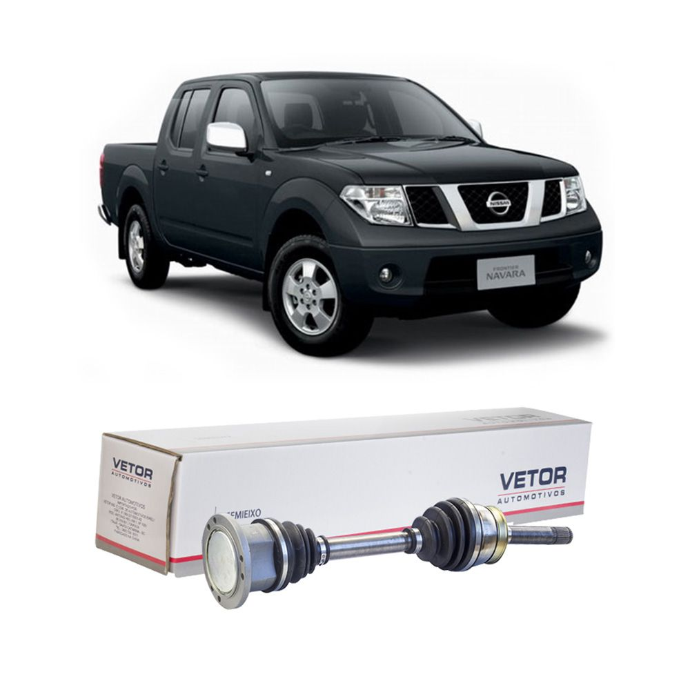 Semi Eixo Nissan Frontier 4X4 2002 2003 2004 2005 2006 2007 - Lado Direito e Esquerdo