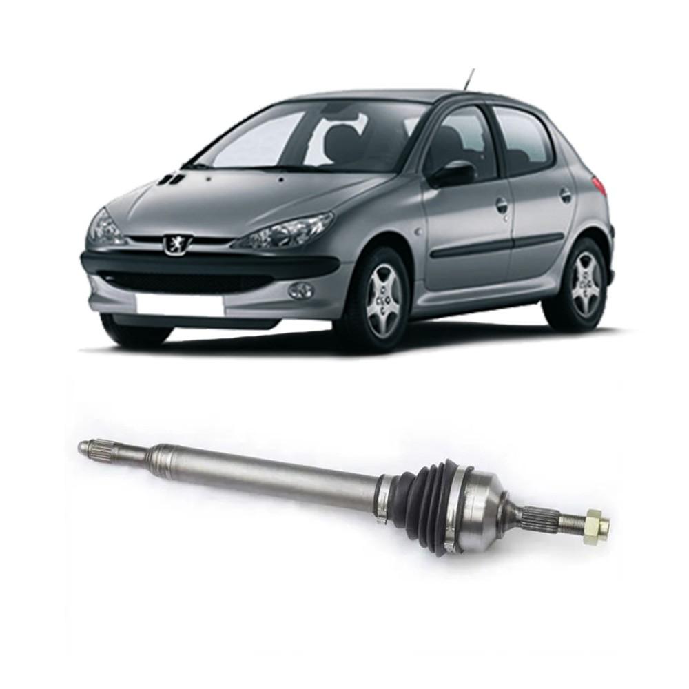 Semi Eixo Peugeot 206 1.0 1.4 16V 2001 a 2010 - Lado Direito e Esquerdo