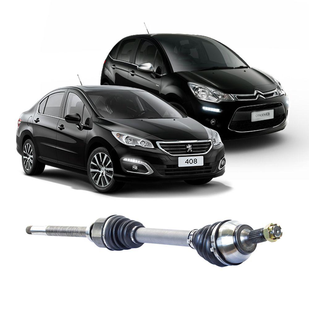 Semi Eixo Peugeot 308 408 1.6 2.0 2011 2012 2013 2014 2015 2016 2017 2018 2019 2020 Manual - Lado Direito
