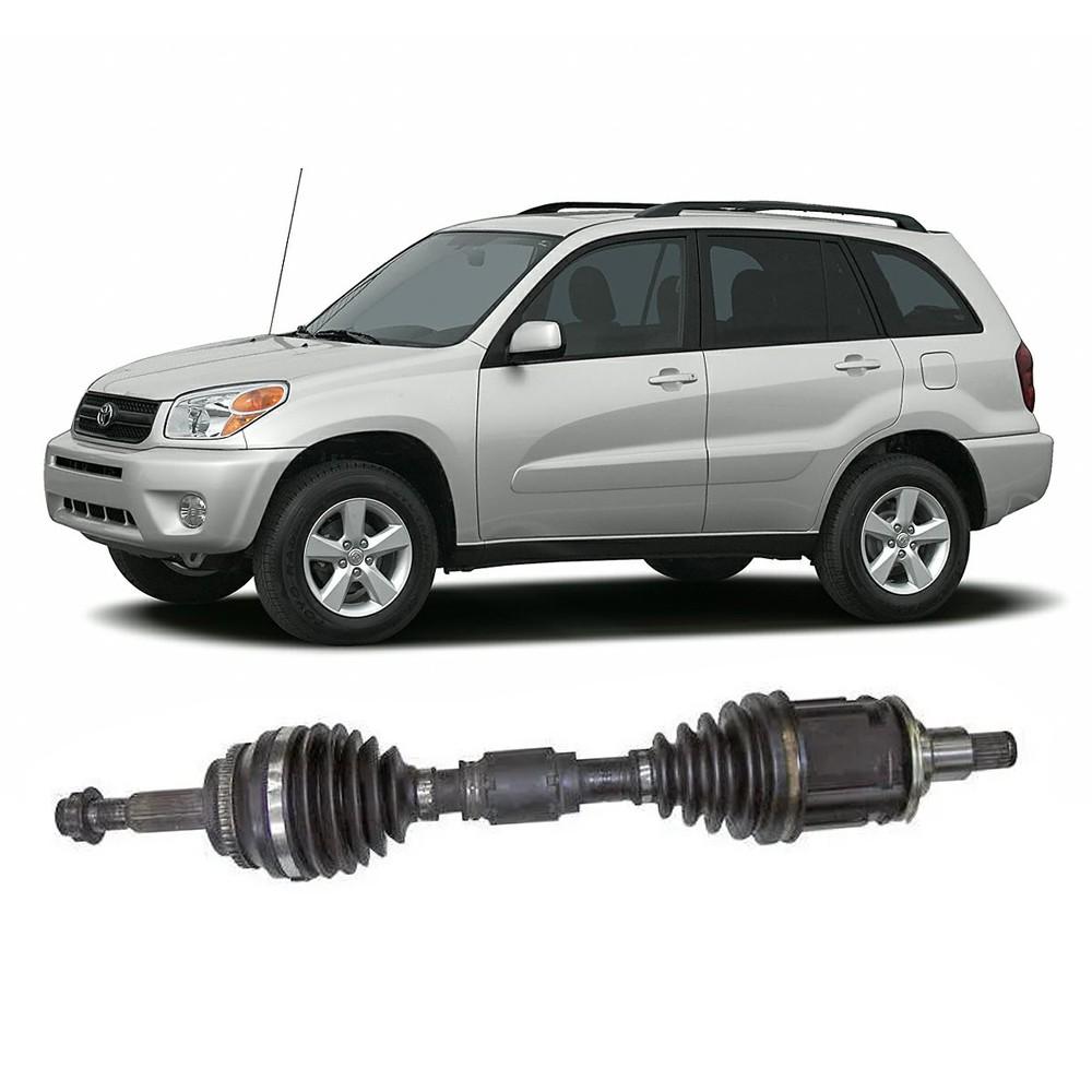 Semi Eixo RAV4 2.0 4X4 Manual e Automático com ABS 2000 2001 2002 2003 2004 2005 - Lado Esquerdo