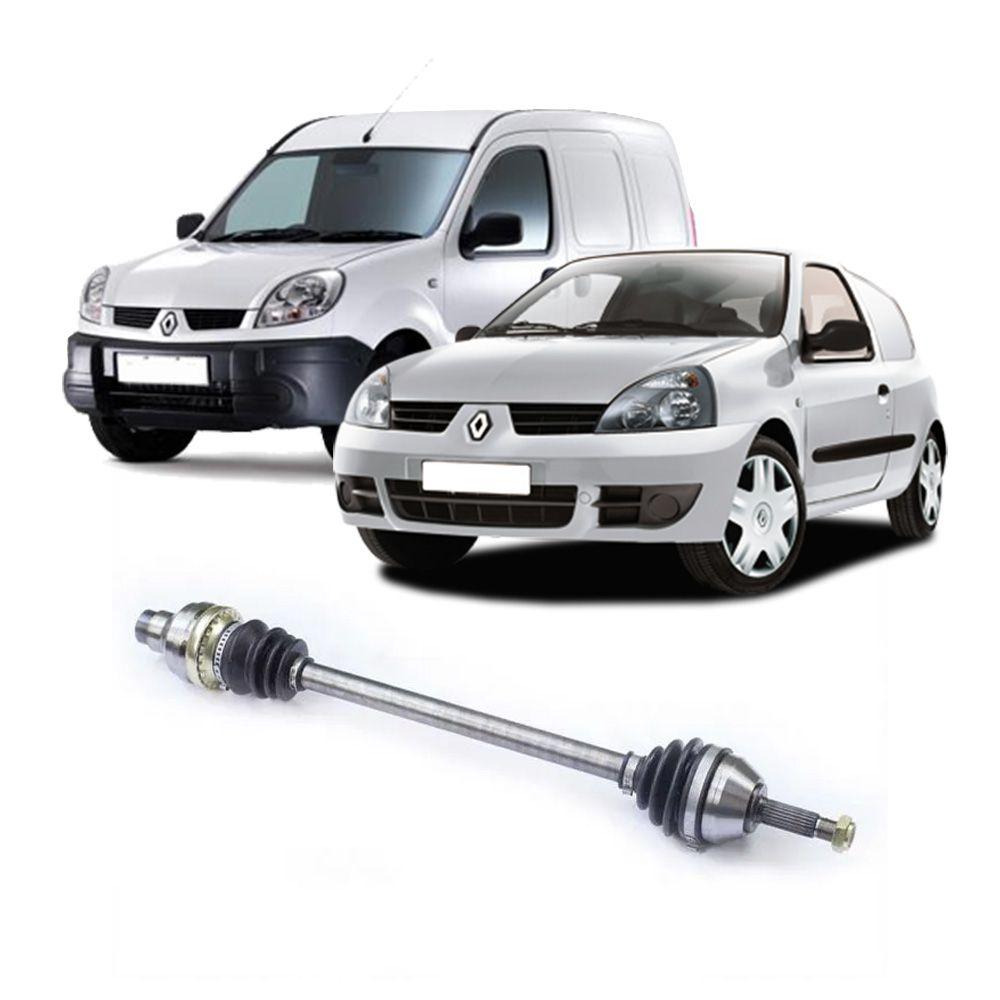 Semi Eixo Renault Clio 1.0 1.6 Kangoo 1.0 1.6 2000 a 2006 - Lado Direito