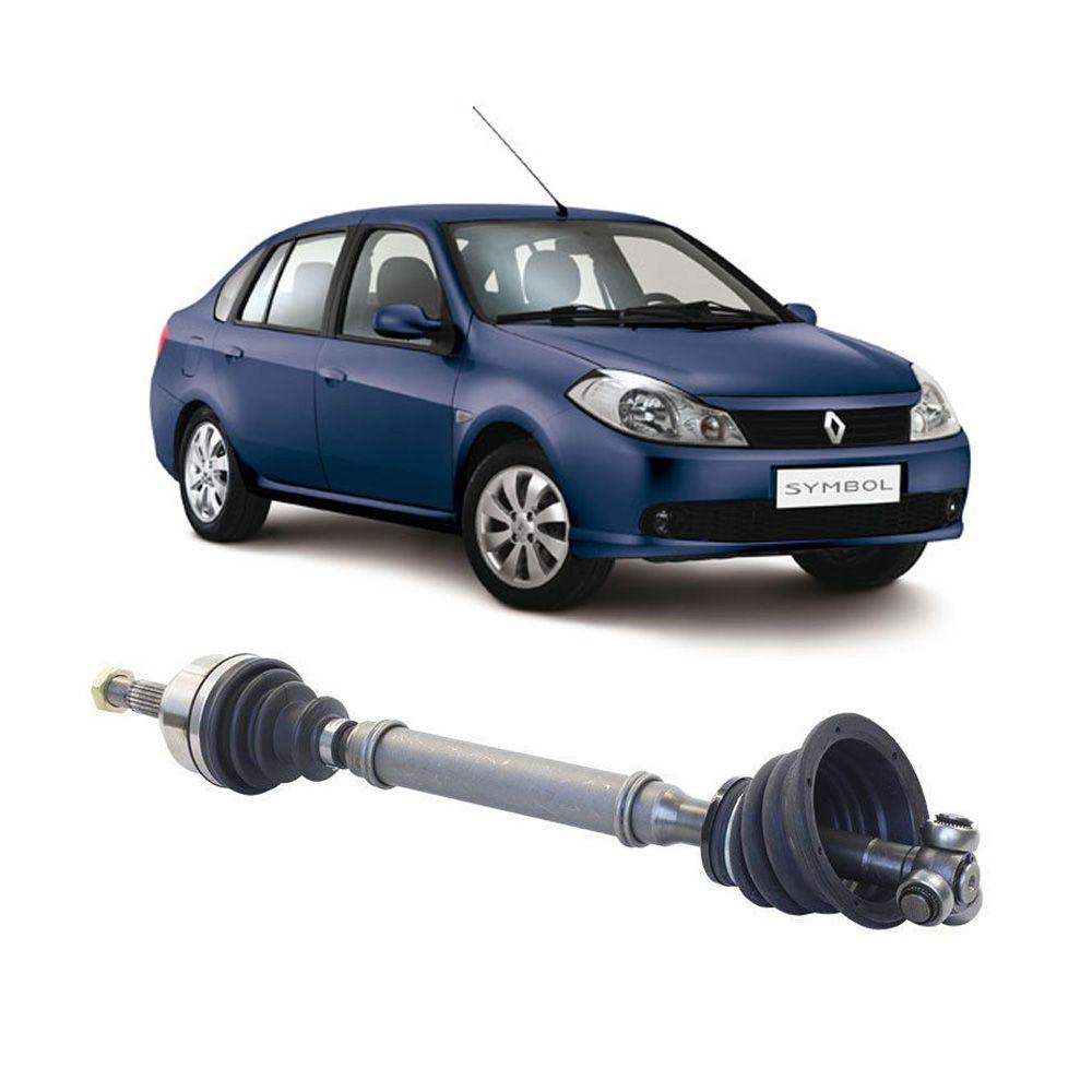 Semi Eixo Renault Symbol 1.6 16V 2009 2010 2011 2012 2013 sem ABS – Lado Esquerdo