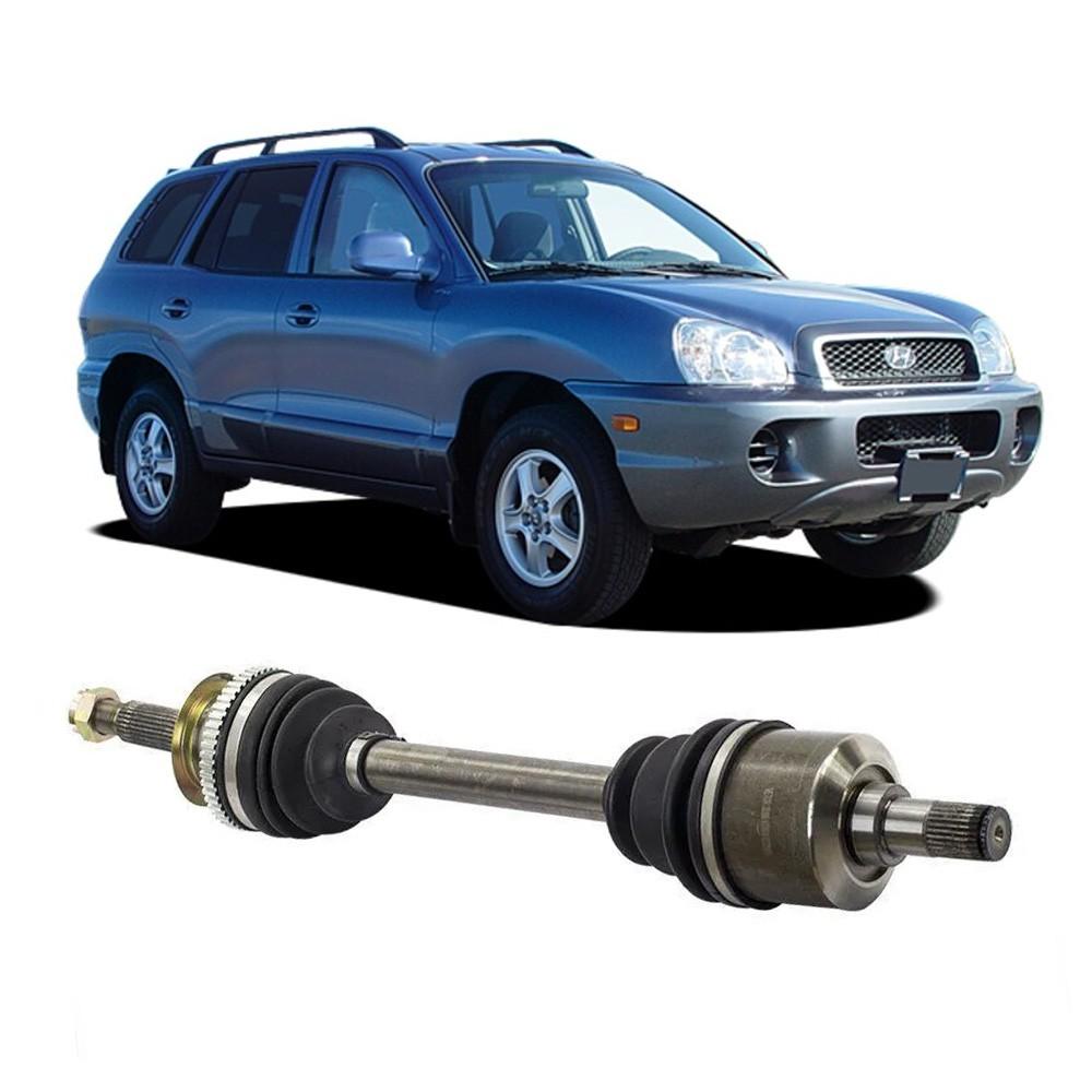 Semi Eixo Santa Fé 2.7 V6 com ABS 2000 2001 2002 2003 2004 - Lado Esquerdo