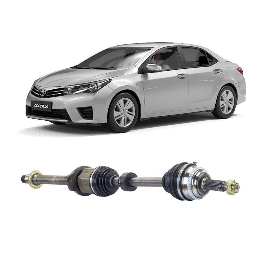 Semi Eixo Toyota Corolla 2.0 2010 2011 2012 2013 2014 2015 2016 2017 2018 2019 2020 com ABS - Lado Direito
