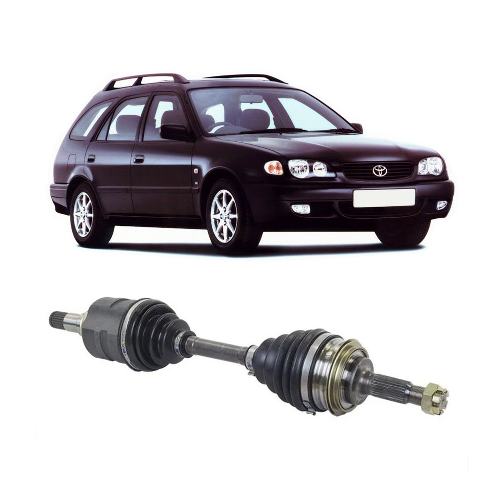 Semi Eixo Toyota Corolla Wagon 1.6 1.8 1998 1999 2000 2001 Manual sem ABS - Lado Esquerdo