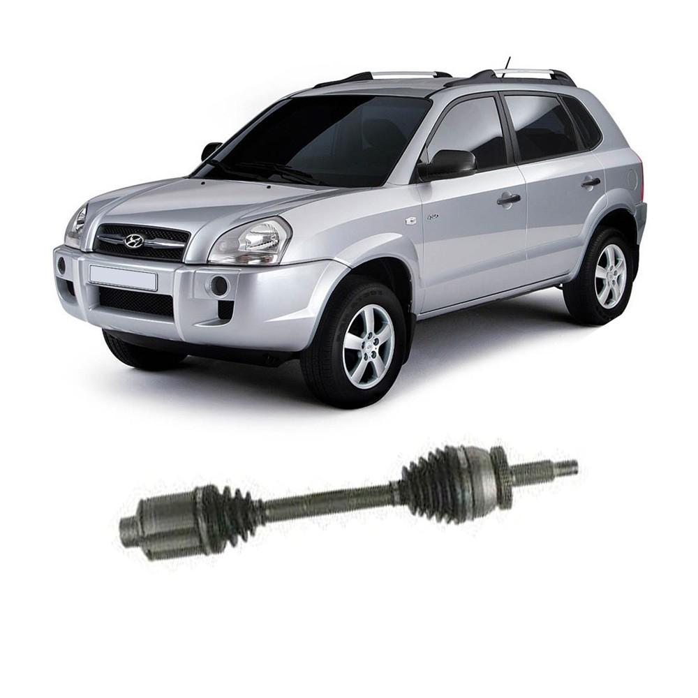 Semi Eixo Tucson 2.7 V6 Automático com ABS 2002 2003 2004 2005 2006 2007 2008 2009 - Lado Direito