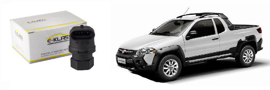 Sensor de Velocidade Fiat Siena, Palio, Strada 1.0/1.3/1.5/1.6/1.8 8/16V, Stilo, Doblò 1.3/1.6/1.8 8/16V, Marea 2.0/2.4 20V, Brava 1.6 16V.