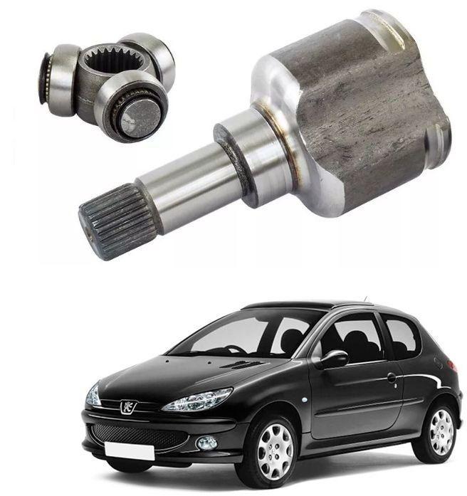 Tulipa Peugeot 206 1.0 16V 2001 2002 2003 2004 2005 2006 Lado esquerdo 22x24