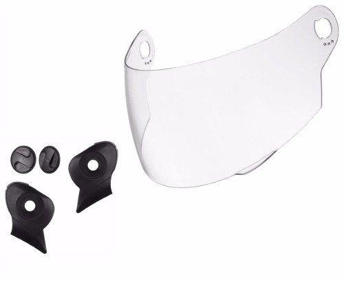 Kit Reparo + Viseira Transparente Capacete Evolution 3g E G4