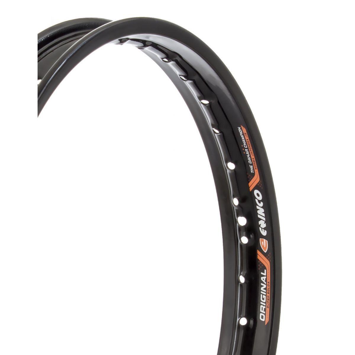 Aro de Moto Dianteiro Honda CG / ML 83 à Titan 150 - 1.60 X 18 - Preto - Eninco