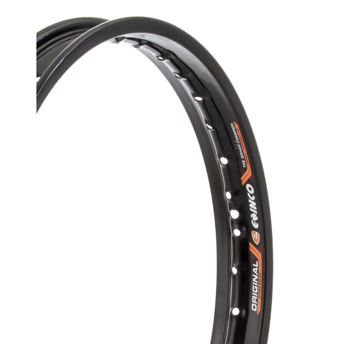 Aro de Moto Dianteiro Yamaha Crypton - 1.20 X 17 - Preto - Eninco