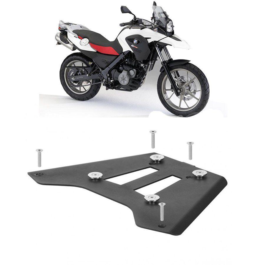 Base de Fixação Preta para Moto Bmw G 650 Gs Roncar
