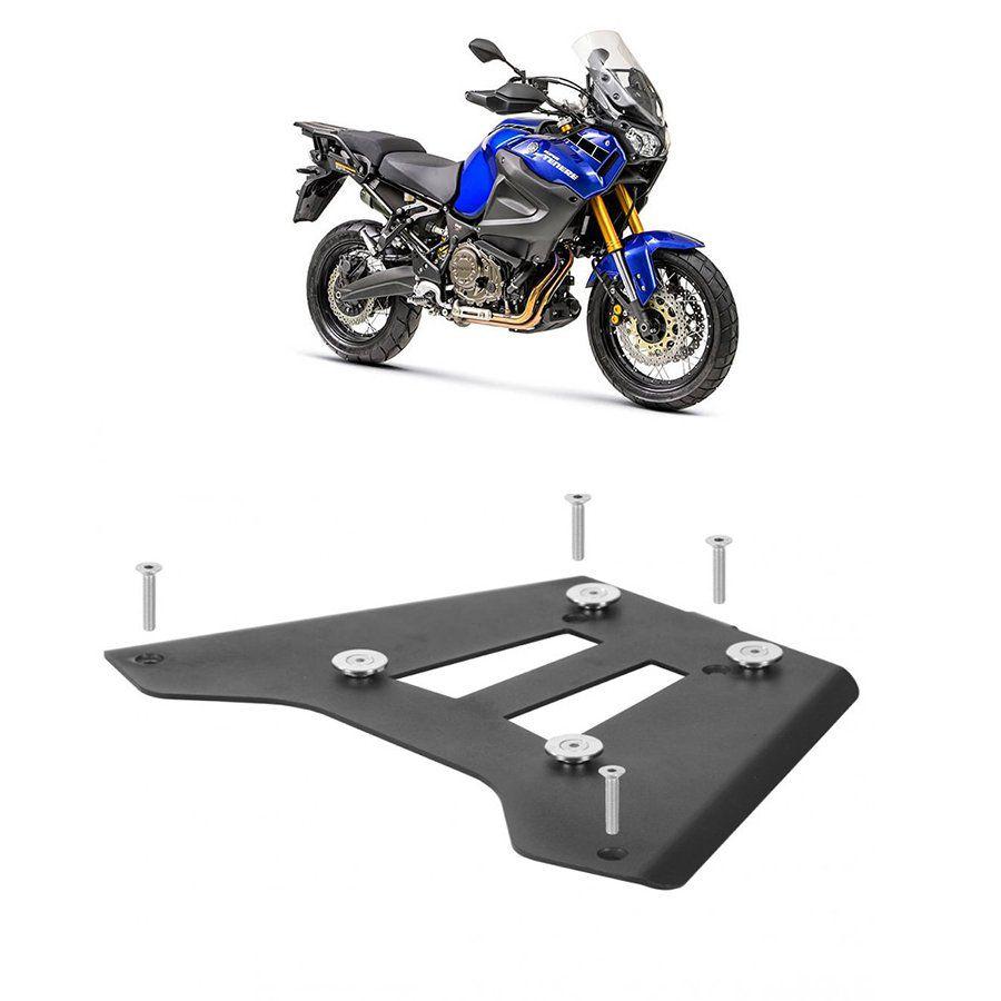 Base de Fixação Preta para Moto Yamaha Super Tenere 1200 Roncar