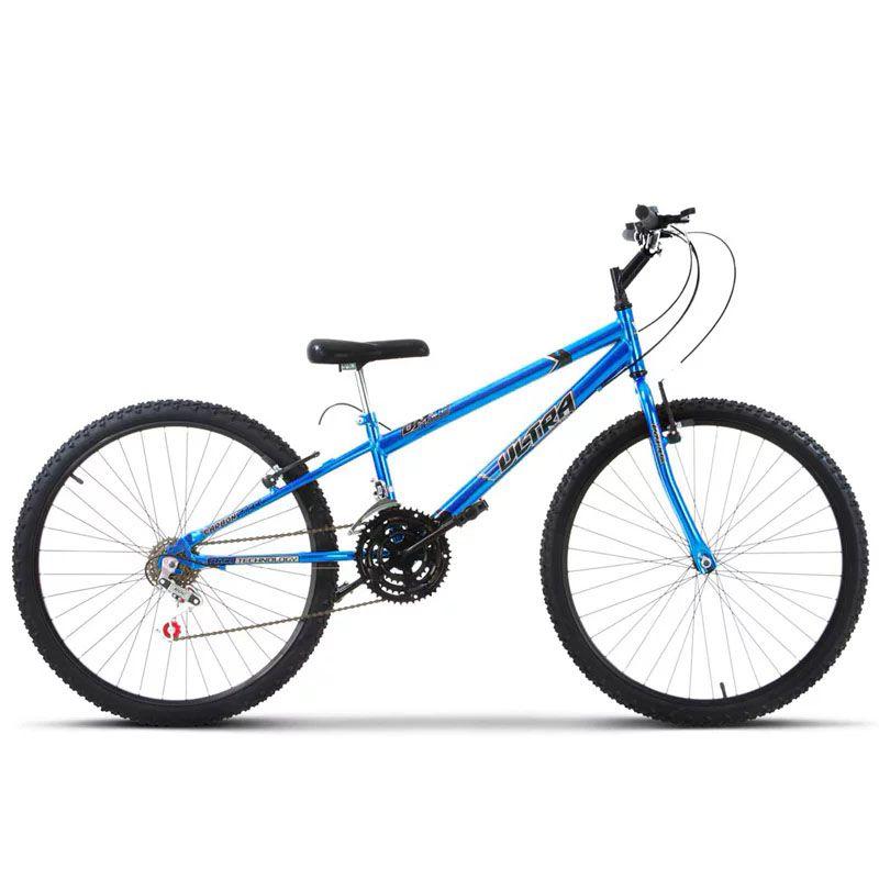 Bicicleta Adulto Ultra Bikes Chrome Line Aro 26 / 18 Marchas (Rebaixada) - Oferta