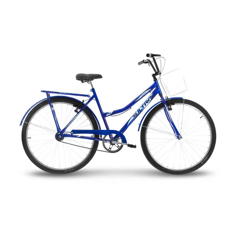 Bicicleta Aro 26 Adulto Masculina Vintage Summer Ultra Bikes - Azul - Oferta Única