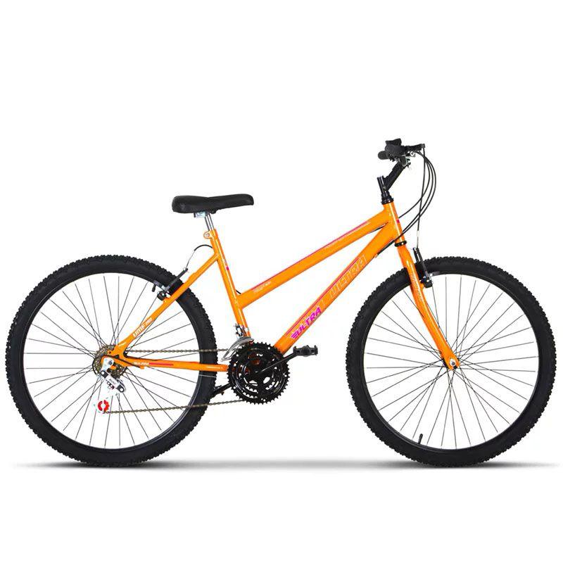 Bicicleta Infantil Aro 24 Rebaixada 18 Marchas  Monocolor Ultra Bikes