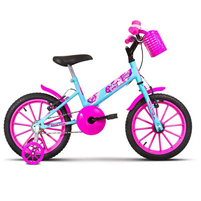 Bicicleta Infantil Feminina Aro 16 Ultra Bikes Unicorn
