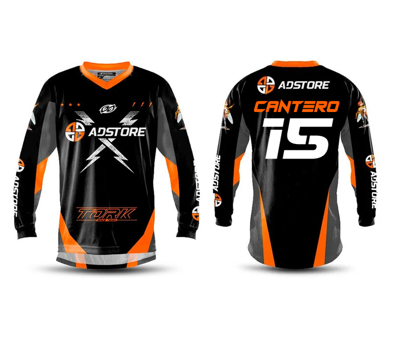 Camisa Trilha Motocross Insane X Ad Store Personalizada