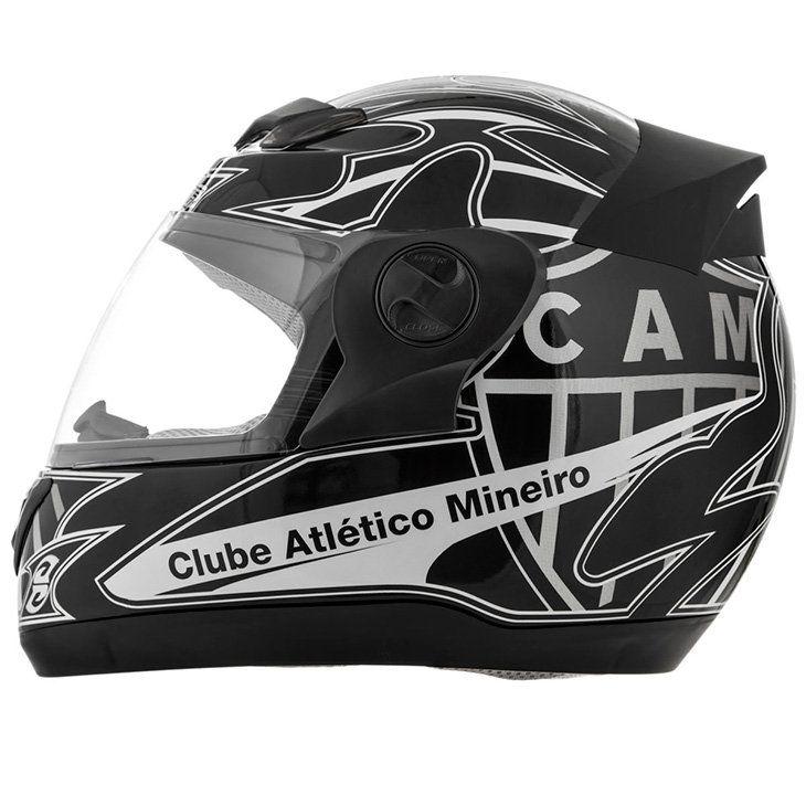 Capacete 3G Atlético Mineiro ( Galo ) - Produto Oficial do Time