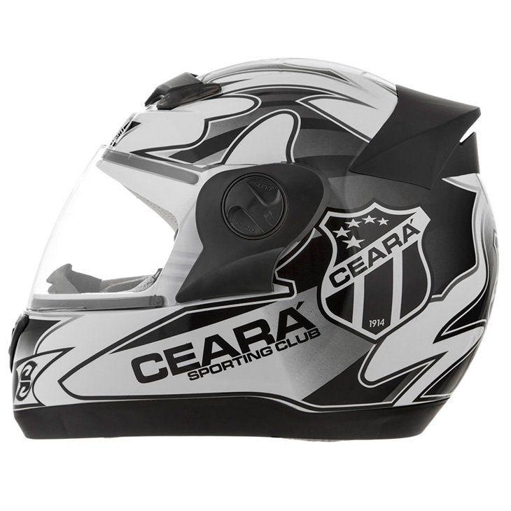Capacete 3G Ceará Esporte Clube - Produto Oficial do Time