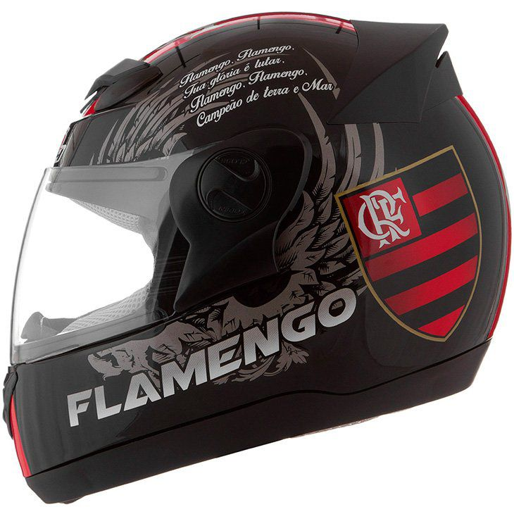 Capacete 3G Flamengo - Produto Oficial do Time