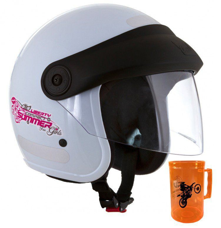 Capacete Liberty Compact Summer For Girls  - Inativo