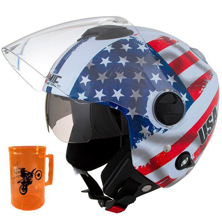 Capacete New Atomic Usa