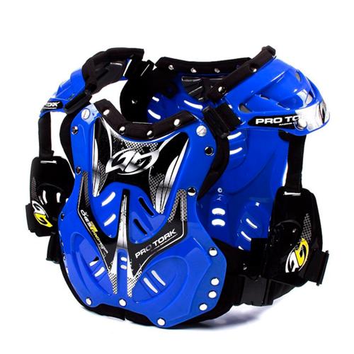 Colete Motocross Trilha Pro Tork 788 Azul