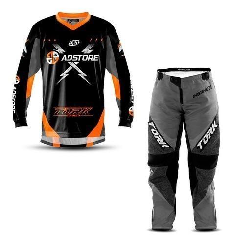 Calça e Camisa Adulto Trilha Motocross Oficial AD Store