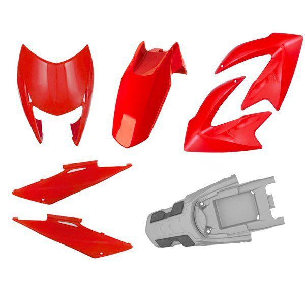 Kit Carenagem Completo Honda Nxr Bros 2009 À 2011
