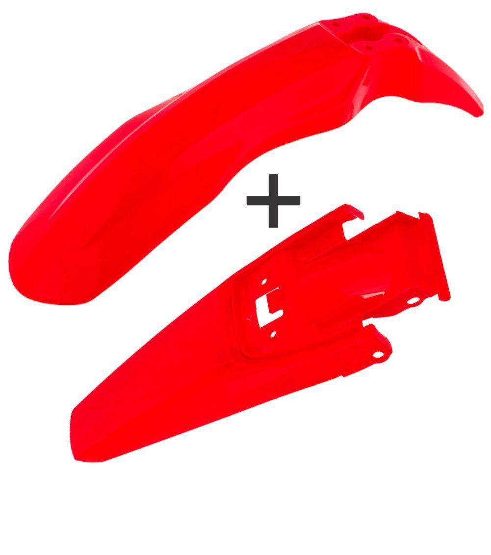Kit Paralama Dianteiro E Traseiro Crf 230 Pro Tork