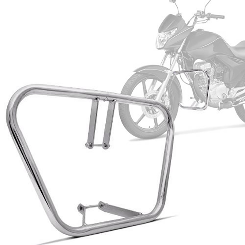 Mata Cachorro Moto Tradicional Honda Fan 125 2014 Cromado